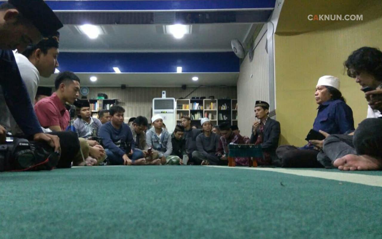 Silaturahim di Masjid Al-Ikhlas Uijeongbu.