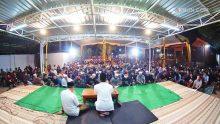Meski sudah dinihari, sorot-sorot mata yang semangat berdiskusi di Padhangmbulan masih nampak penuh binar.