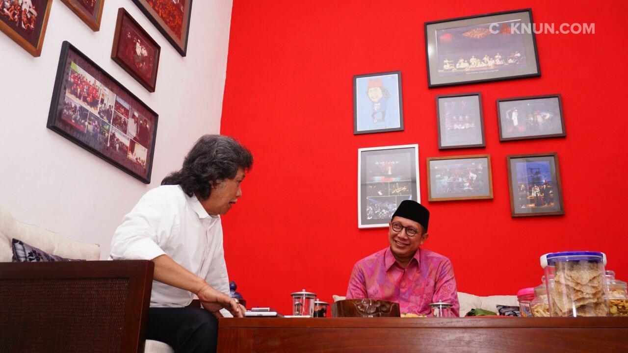 Menteri Agama Lukman Saifuddin Sowan Ke Kadipiro