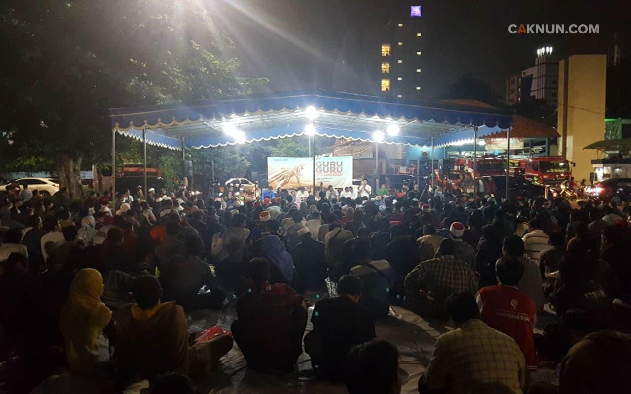 Suasana Kenduri Cinta 10 November 2017 pada sesi awal.