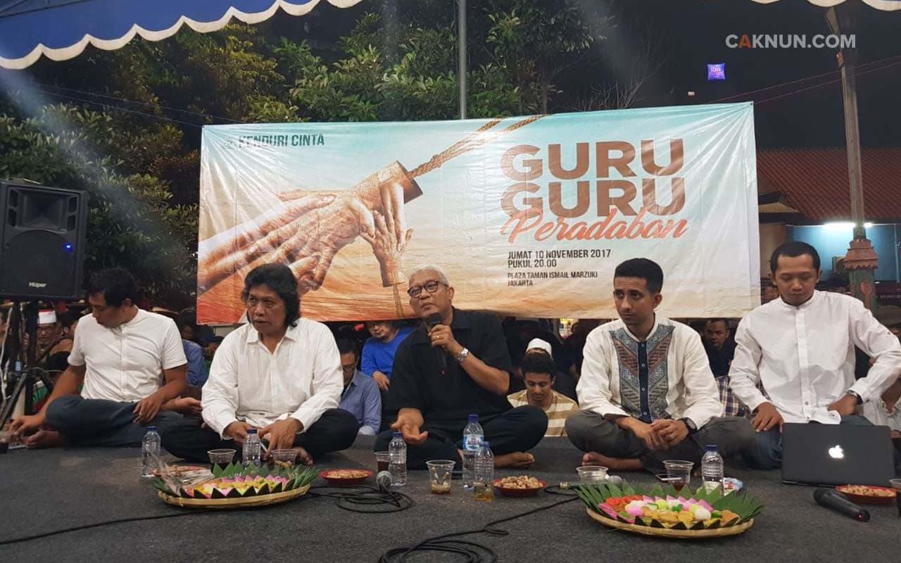 Syekh Nursamad Kamba menceritakan mimpinya bertemu Rasulullah.