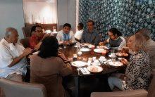 Pertemuan Cak Nun dengan Warga Turki dan Hakim Mahkamah Agung New York Amerika di Jakarta.