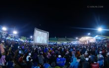 Puluhan ribu orang memenuhi Alun-Alun Tuban untuk Ngaji Kebangsaan.