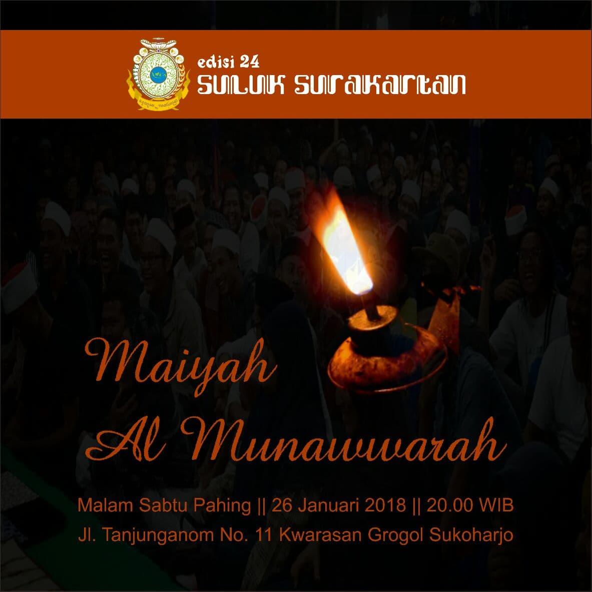 Maiyah Al-Munawwarah