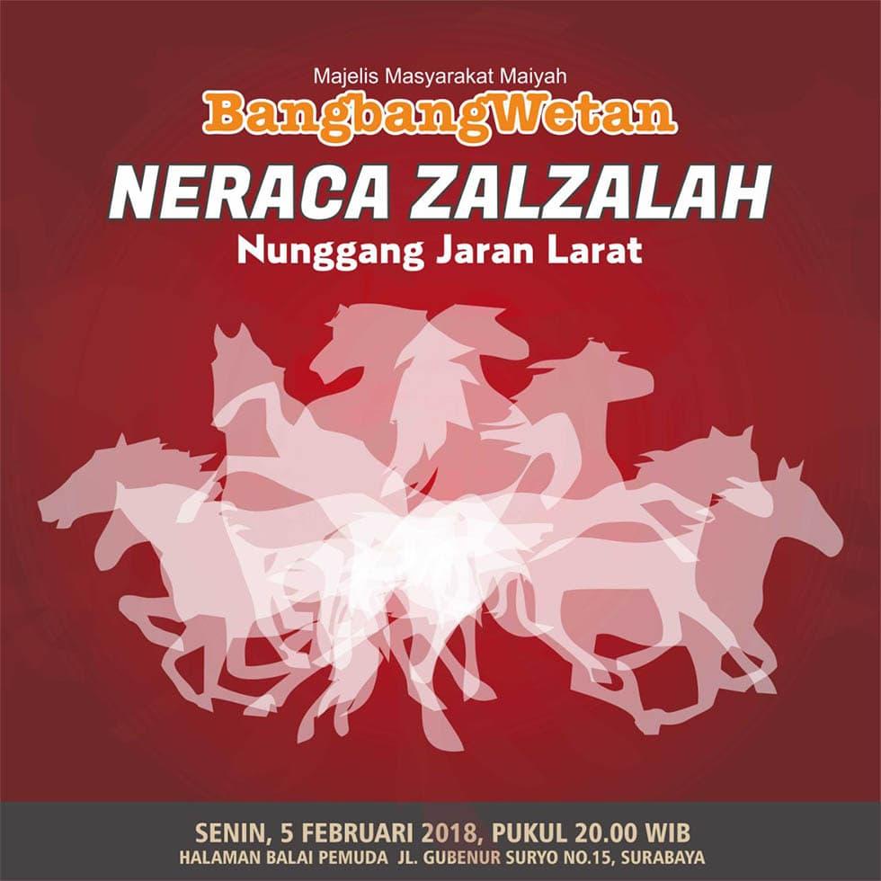 Neraca Zalzalah (Nunggang Jaran Larat)