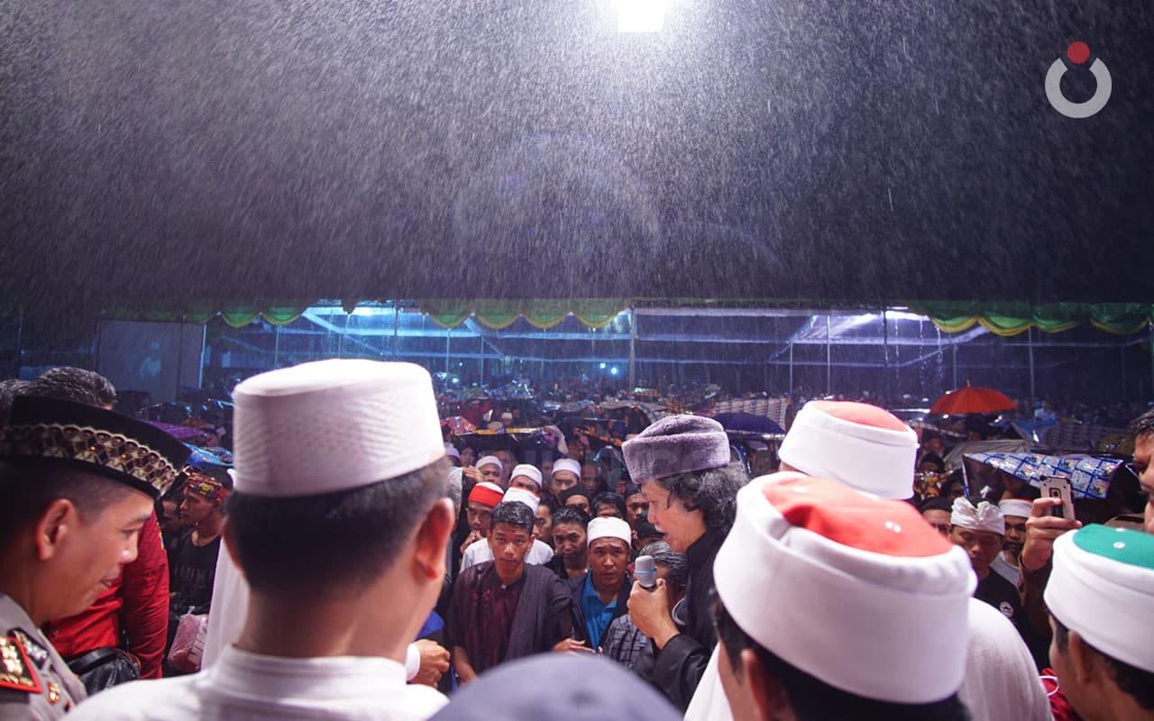 Hujan Berkah di Trowulan