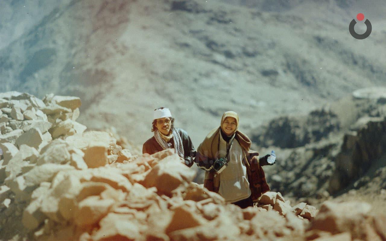 Menapak Tilas Tempat Uzlah Nabi Musa di Gunung Sinai Mesir