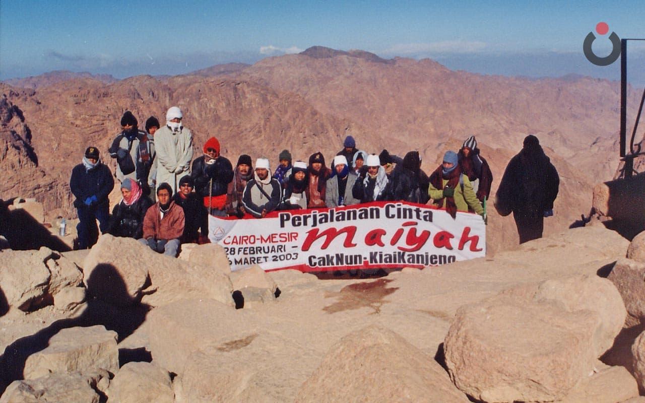 Jabal Musa: 2750 Trap Curam Menuju Tangis