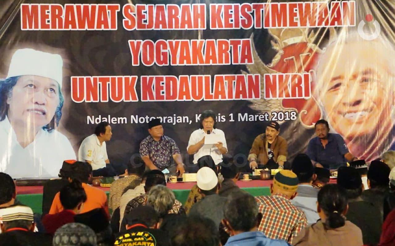 Merawat Sejarah Keistimewaan Yogyakarta untuk Kedaulatan NKRI