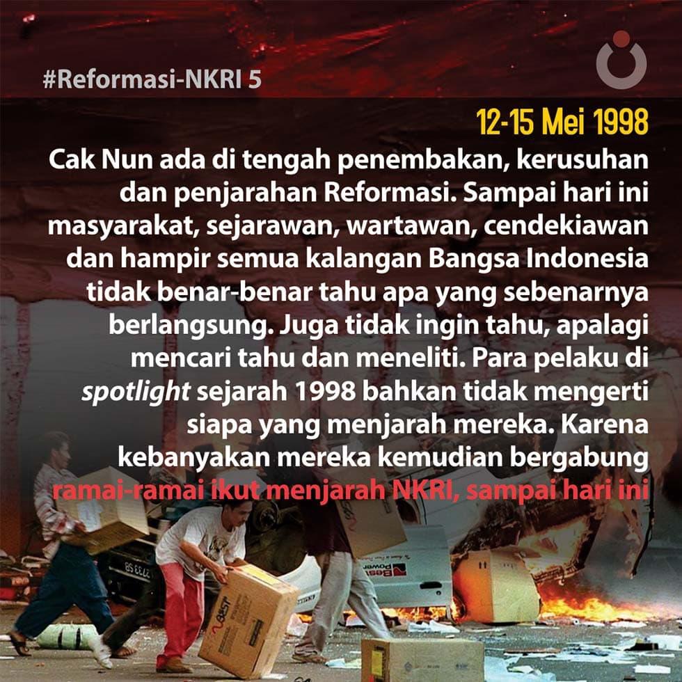 Reformasi NKRI, 5