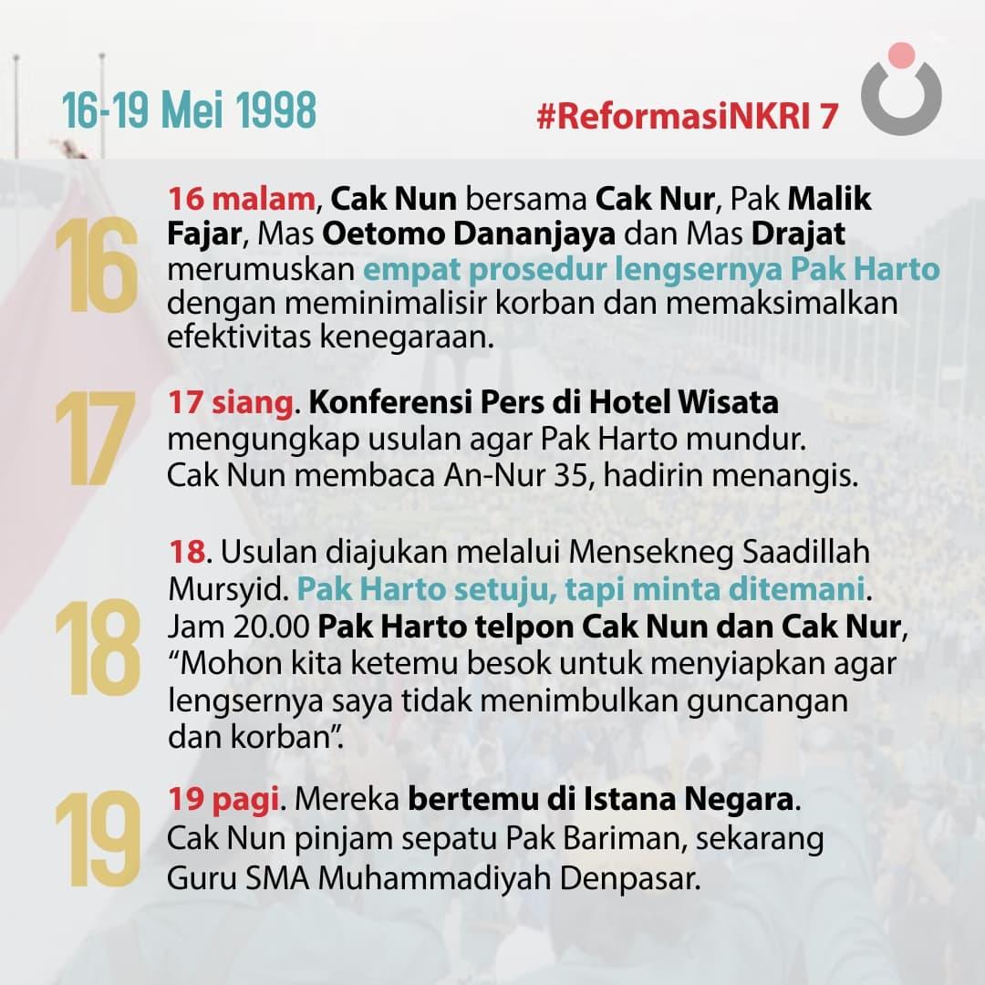 Reformasi NKRI, 7
