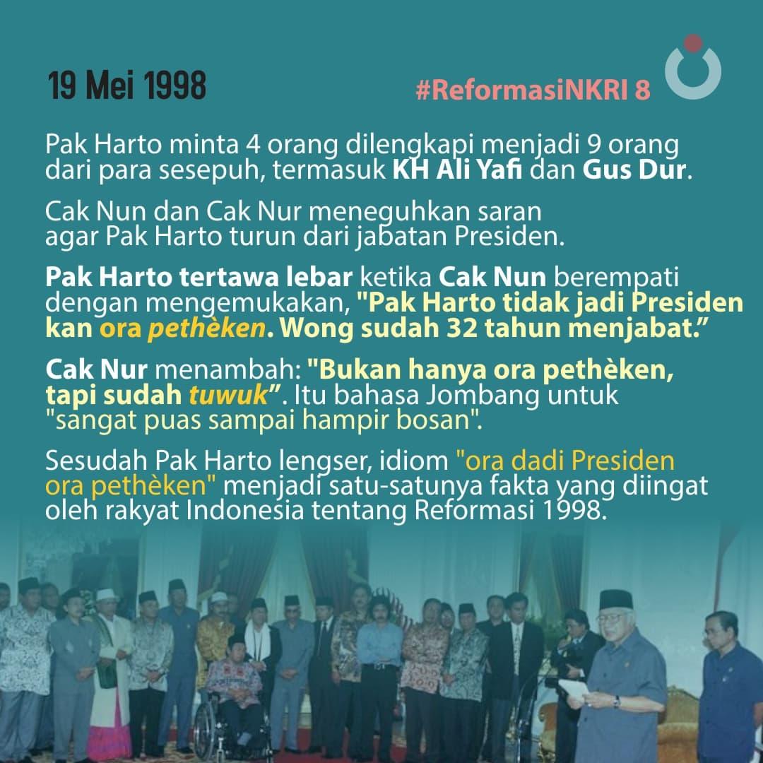 Reformasi NKRI, 8