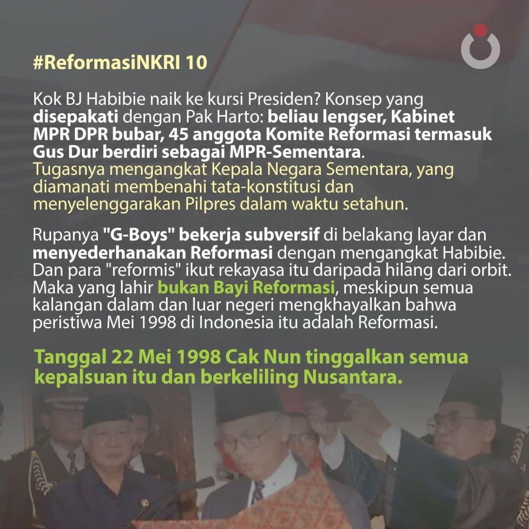 Reformasi NKRI, 10