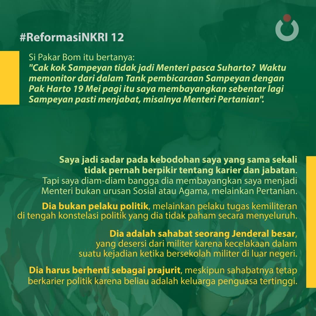 Reformasi NKRI, 12