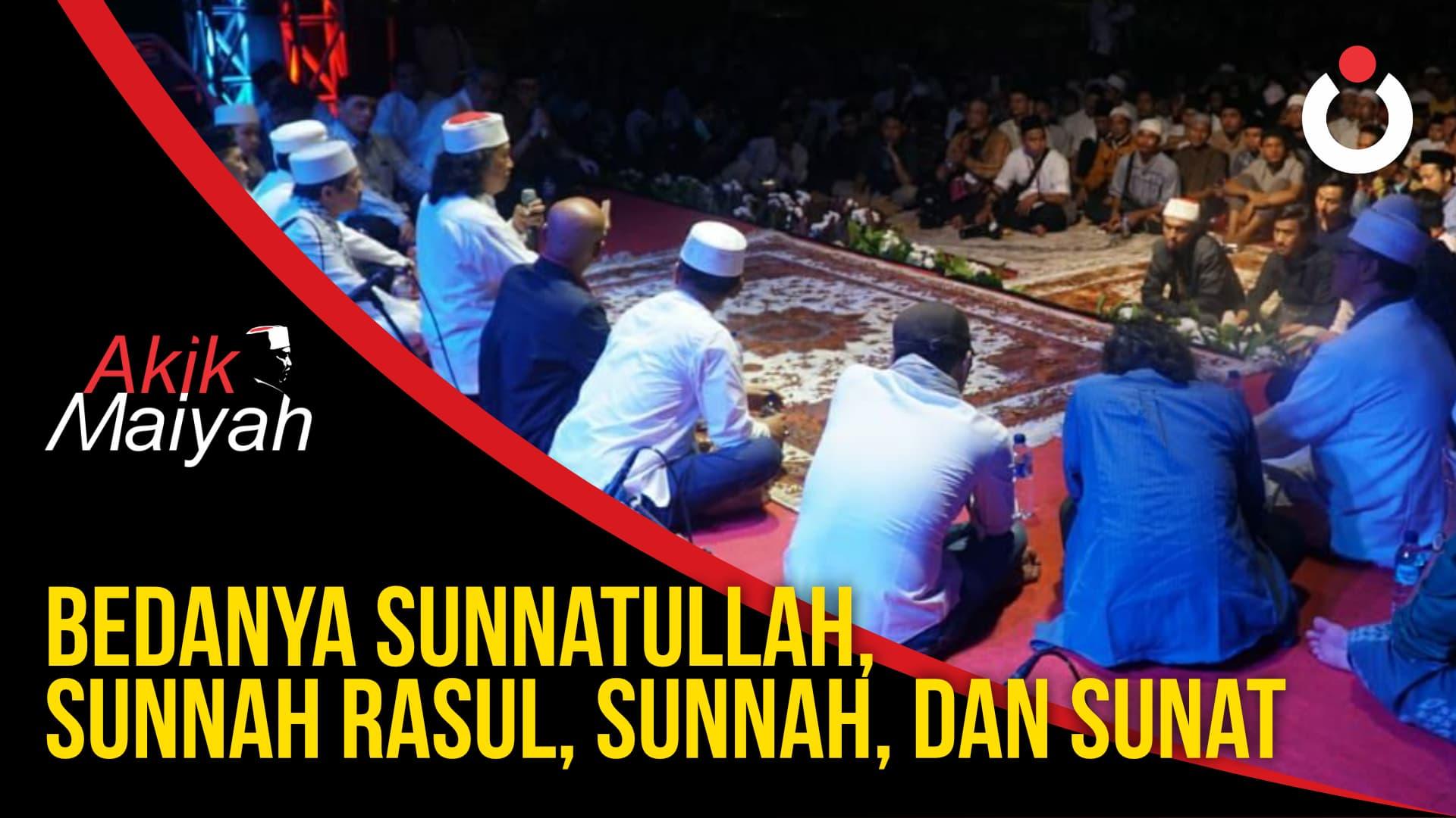 Cak Nun: Bedanya Sunnatullah, Sunnah Rasul, Sunnah, Sunat