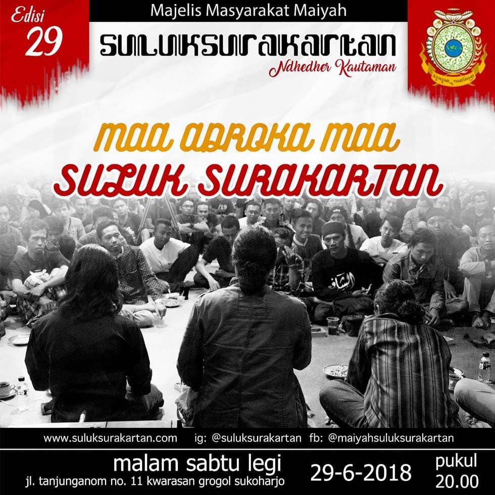 <em>Maa Adroka Maa</em> Suluk Surakartan