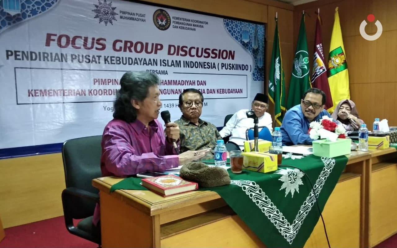 Mbah Nun Urun Pandangan untuk Gagasan Pusat Kebudayaan Umat Islam