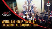 Cak Nun: Menjalani Hidup La'alla (Tadabbur Al-Baqarah 183)