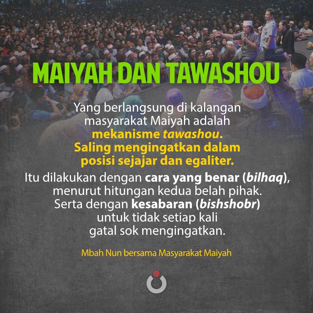 Maiyah dan Tawashou