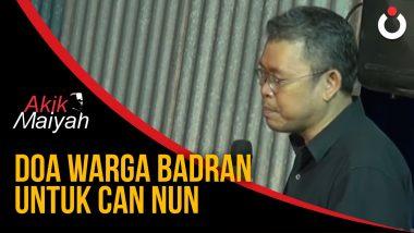 Doa Warga Badran untuk Cak Nun