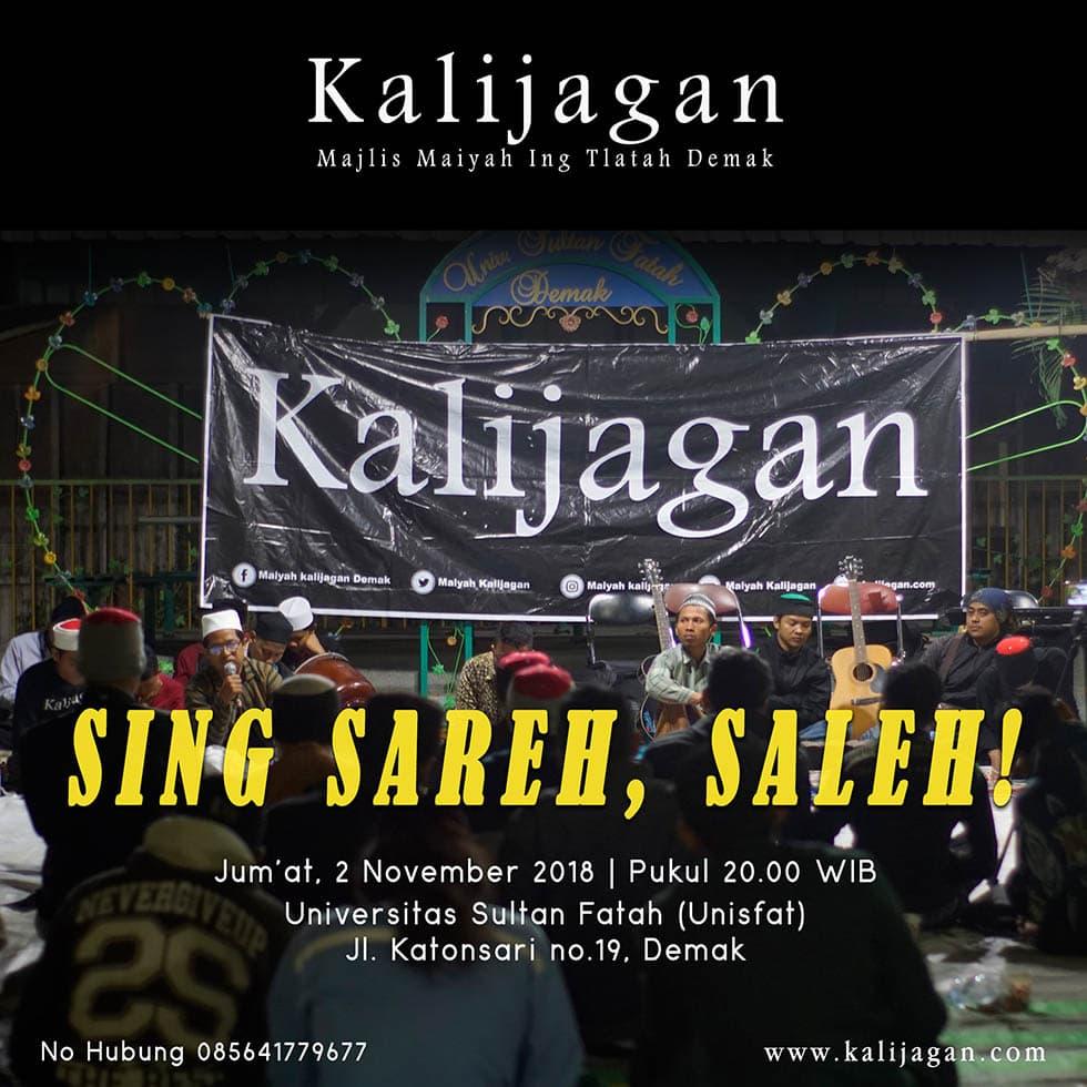 Sing Sareh, Saleh!