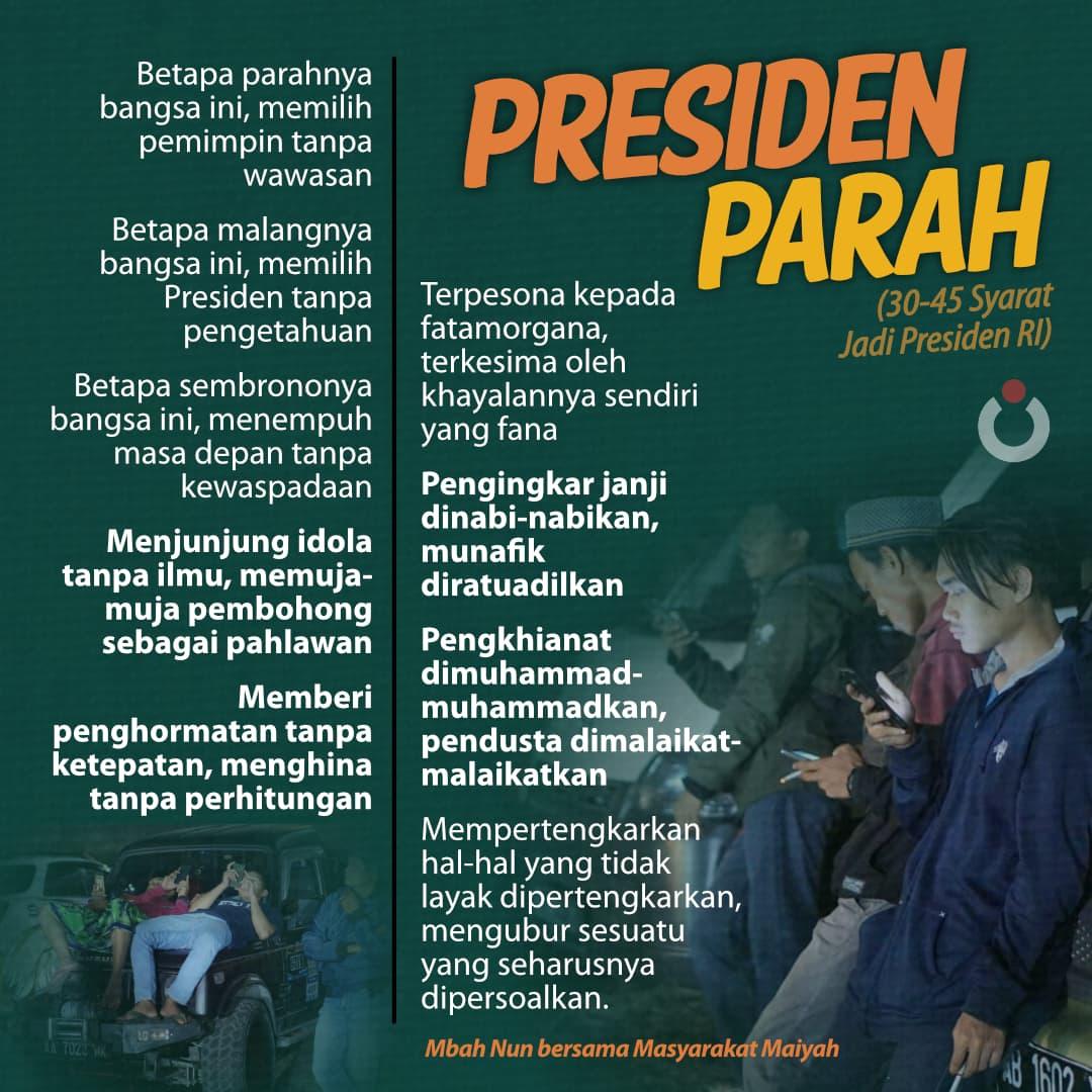 Presiden Parah