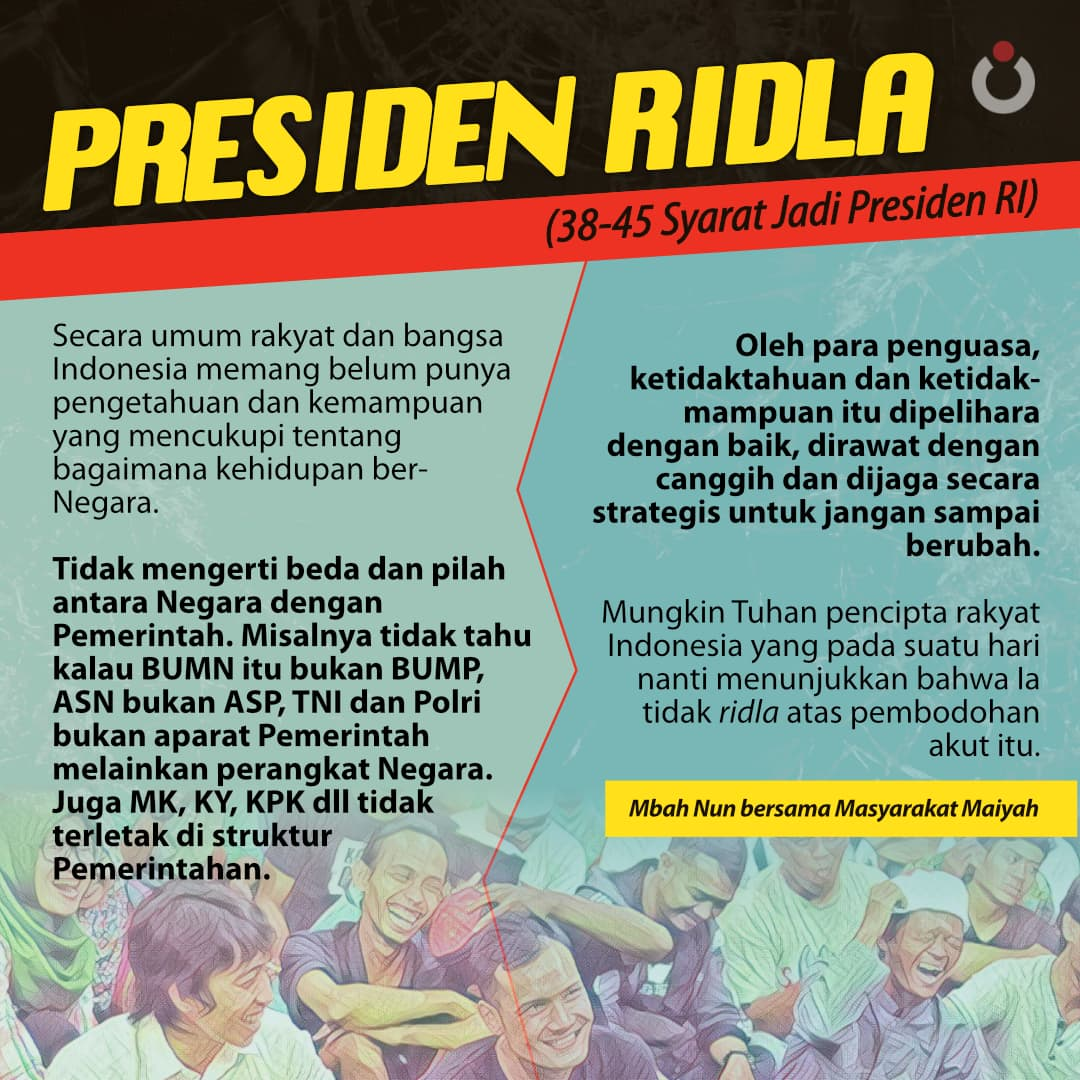 Presiden Ridla