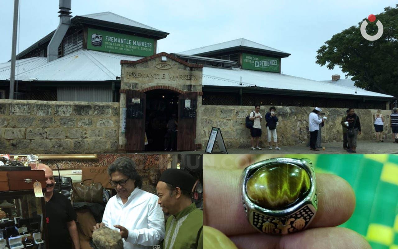 Akik Berlafadh Allah di Freemantle Market