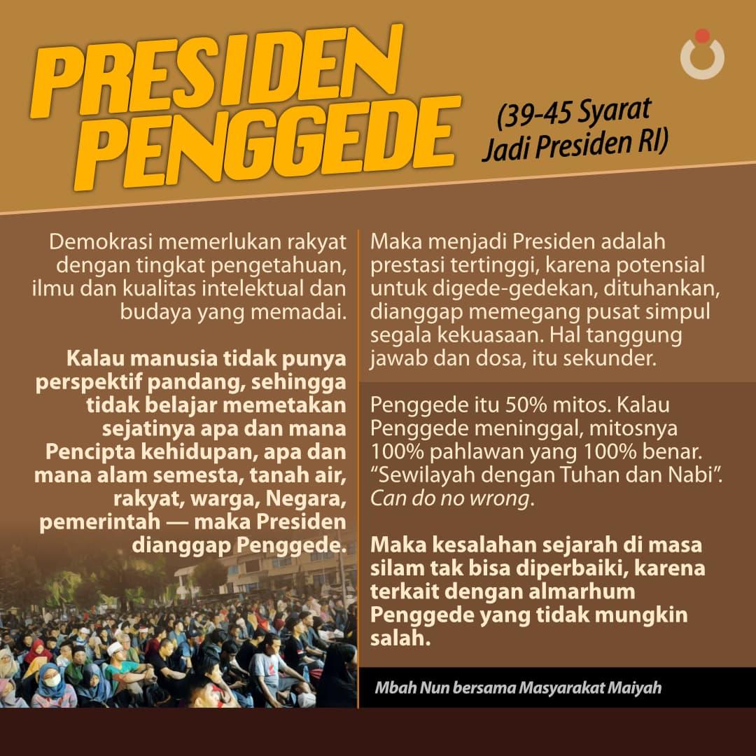 Presiden Penggede