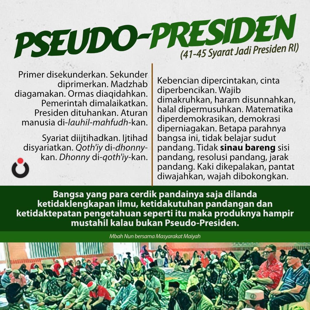 Pseudo-Presiden