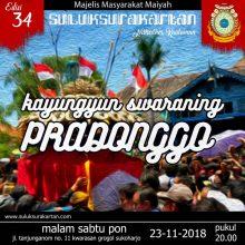 Kayungyun Swaraning Pradonggo