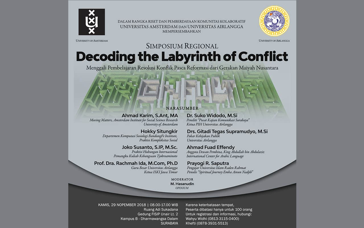 <em>Decoding The Labyrinth of Conflict</em> | Simposium Regional