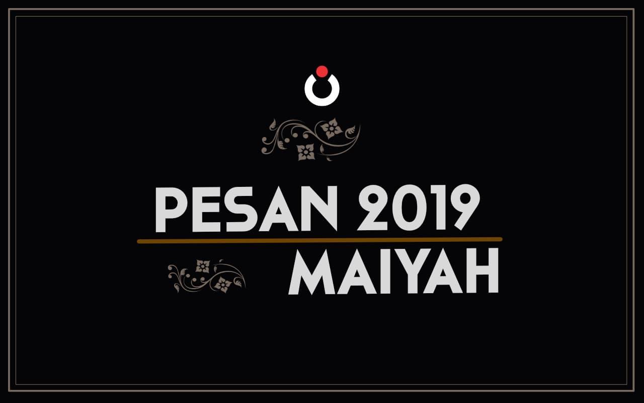 Pesan 2019 Maiyah
