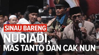 Sinau Bareng Nuriadi, Mas Tanto dan Cak Nun