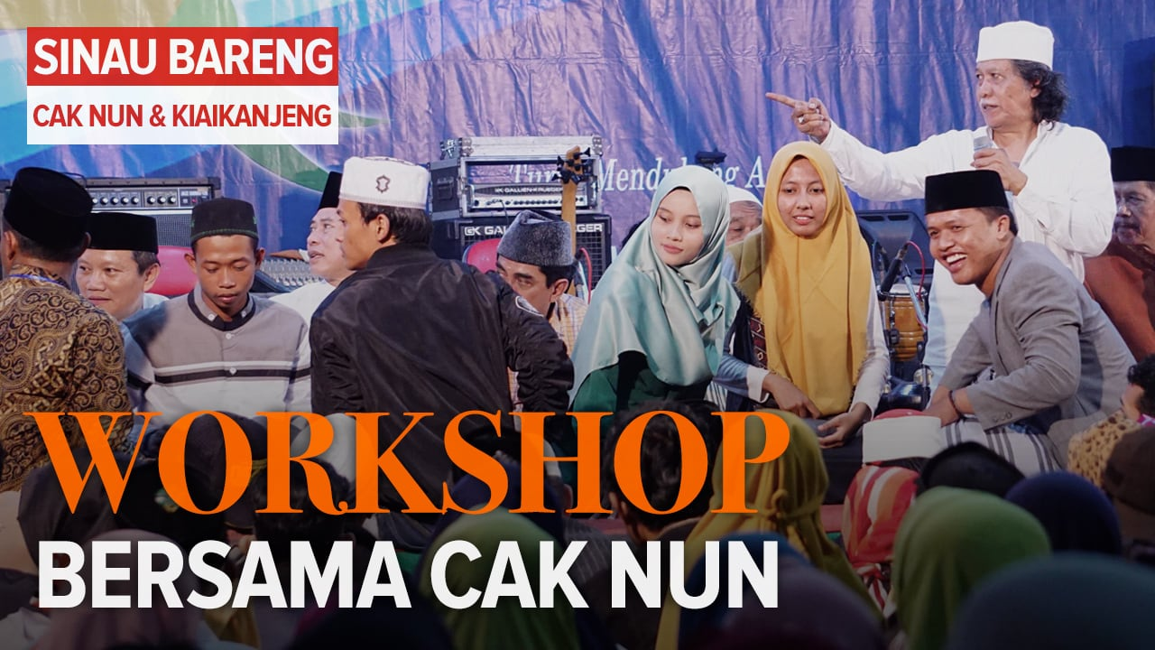 Workshop Bersama Cak Nun