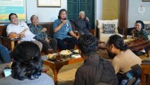 Silaturahmi Dengan Sahabat-Sahabat Wartawan Yogya