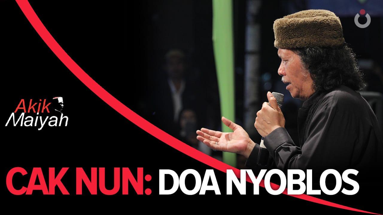 Cak Nun: Doa Nyoblos