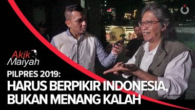 Pilpres 2019: Harus Berpikir Indonesia, Bukan Menang-Kalah