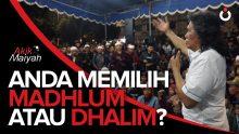 Cak Nun: Anda Memilih Madhlum atau Dhalim?