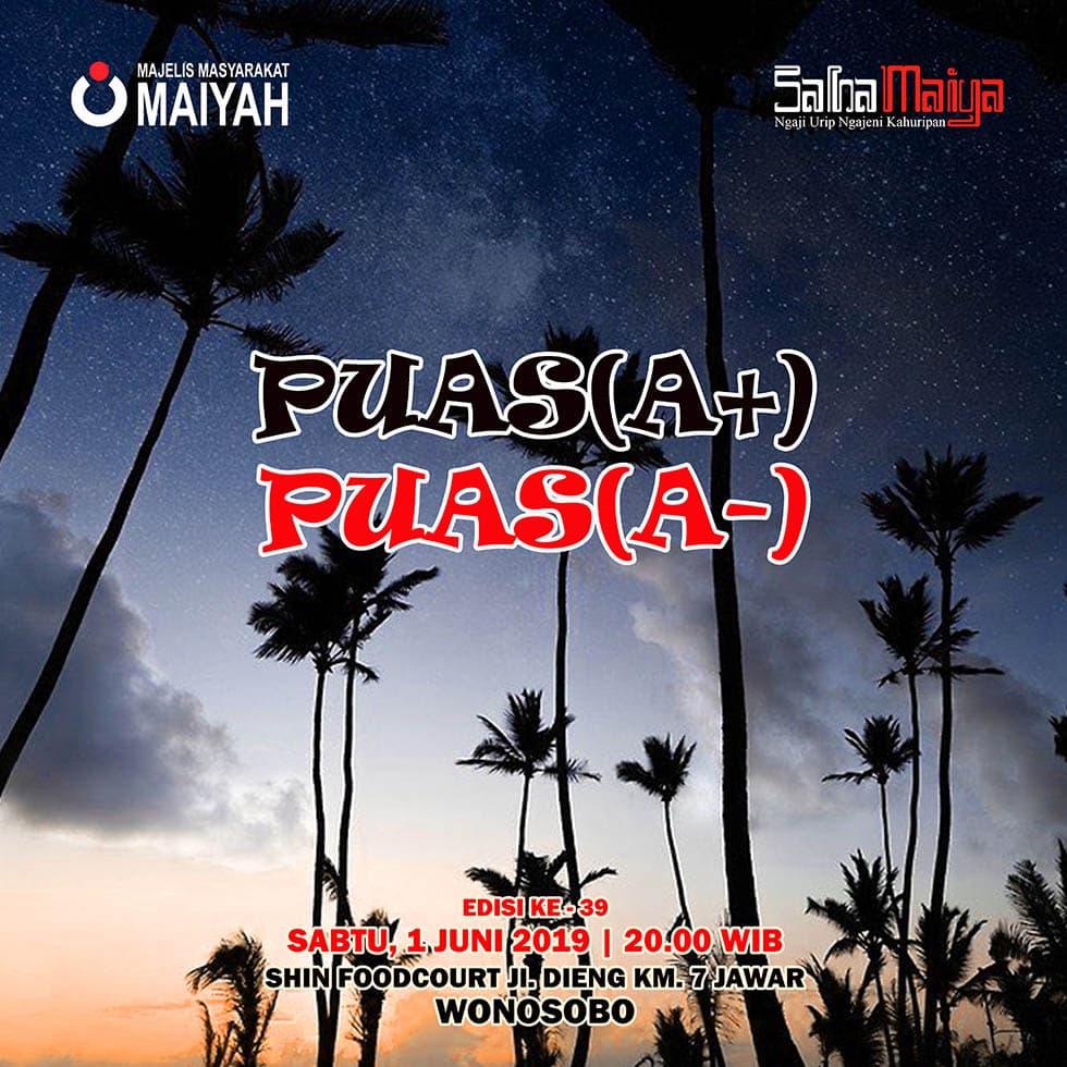 Puas(A+) Puas(A-)