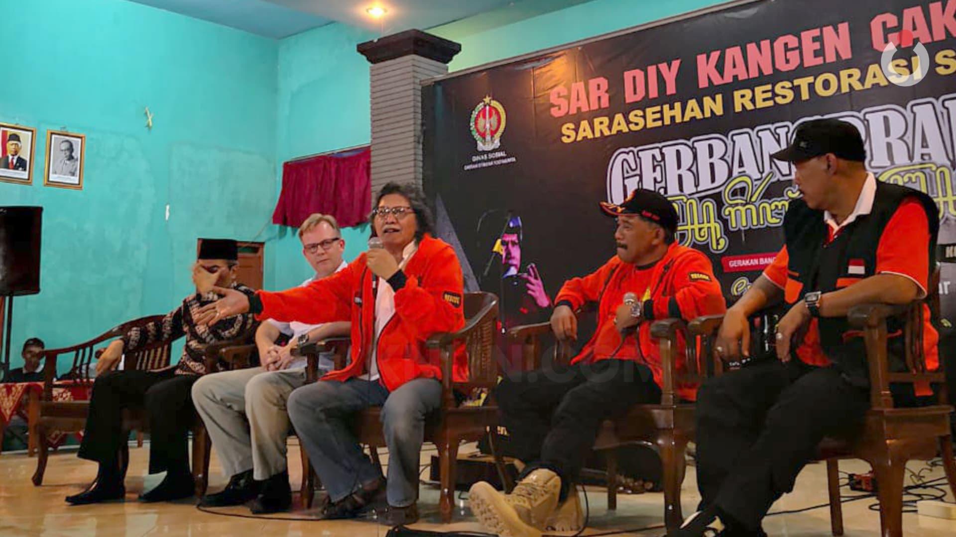 SAR DIY Kangen Cak Nun: Sarasehan Restorasi Sosial