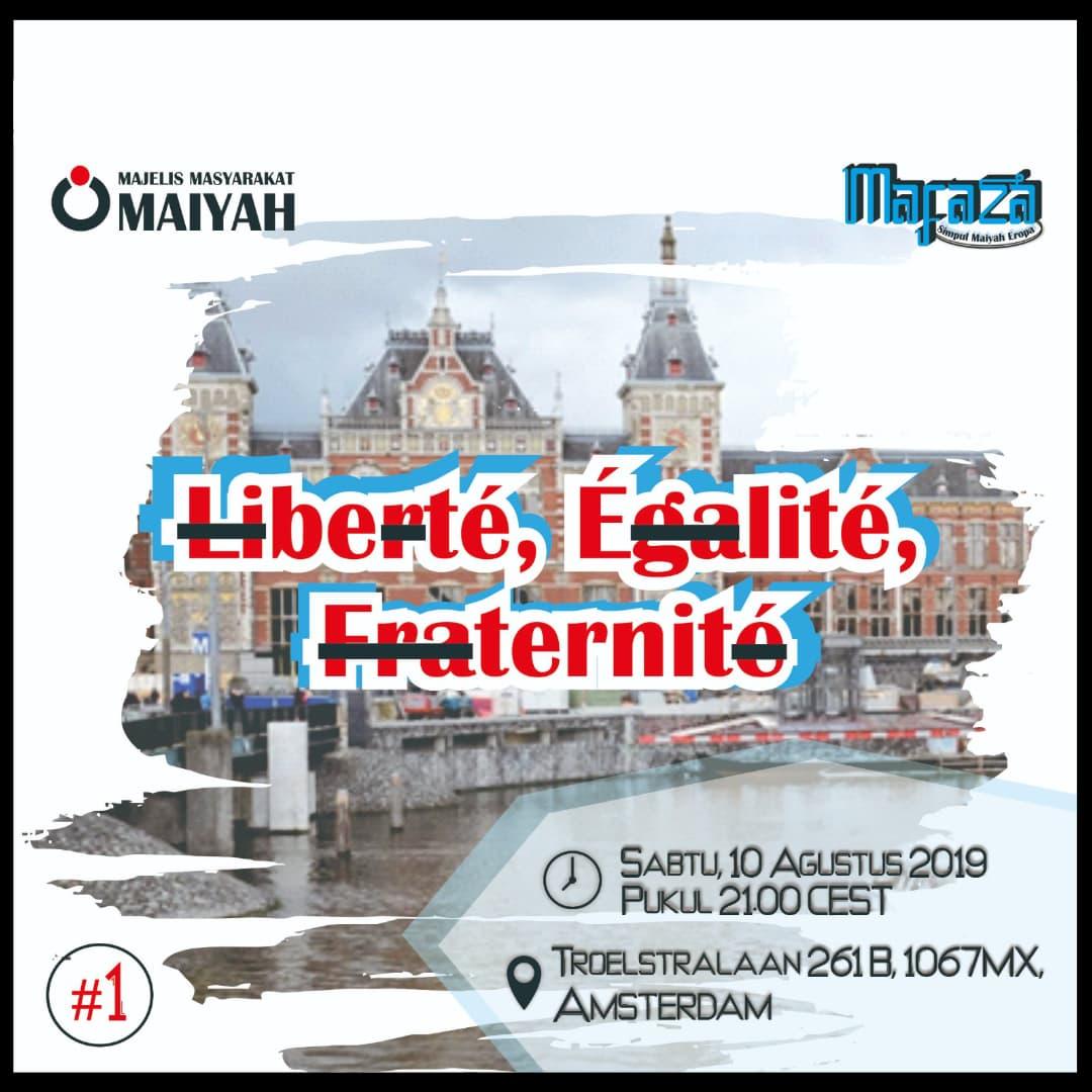 <em>Liberté, Égalité, Fraternité</em>