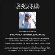 Ibu Khoirotin Binti Abdul Hamid