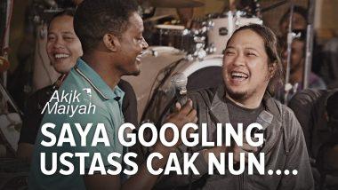 Husain Djibril: Saya Googling Ustass Cak Nun