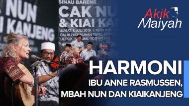 Harmoni Ibu Anne Rasmussen, Mbah Nun dan KiaiKanjeng