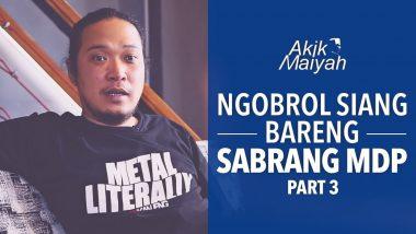 Ngobrol Siang Bareng Sabrang MDP | Part 3