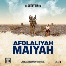 Afdlaliyah Maiyah