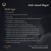Untuk Jamaah Maiyah