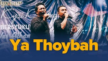 Ya Thoybah (Live Version)