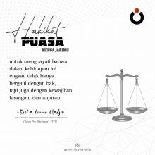 Hakikat Puasa